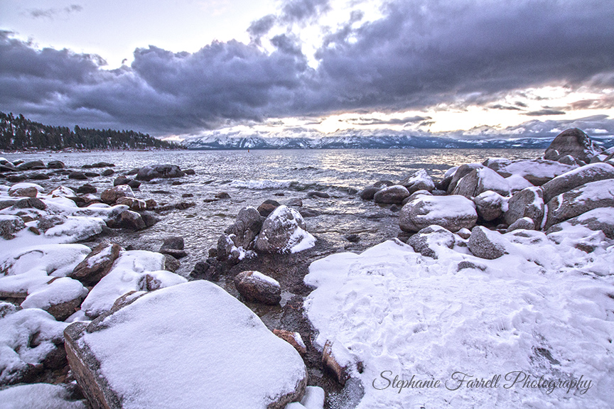 Lake-tahoe-snow-sunset-boulders-storm-clouds-stephanie-farrell-photography-2015-IMG_5230